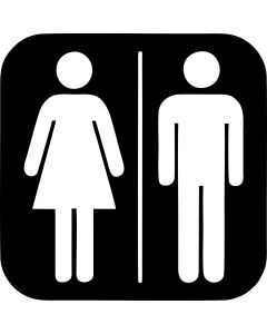 Dame/Herre Toiletskilte