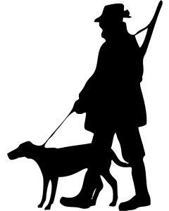Jæger og hund