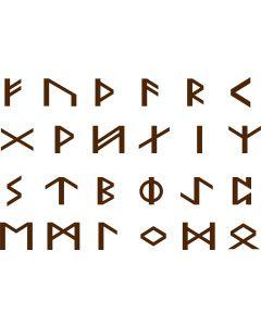 Runer, A4 ark, 30 mm