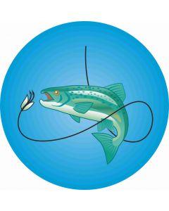 Lystfiskeri, str. ca. 15 x 15 cm