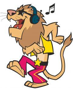 Løve der danser