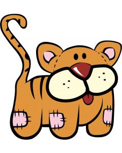 Tiger bamse