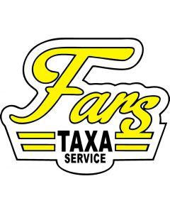 Fars taxa skilt