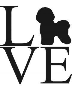 """Love"" Bichon"