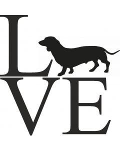 """Love"" Gravhund"