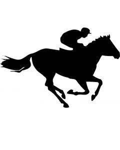 Hest, 9 x 13 cm.