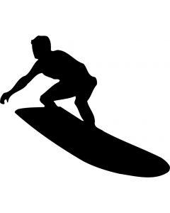 Surfer, konturskåret, vr nr 308 fra