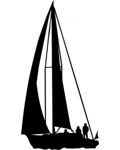 Sejlsport 1, konturskåret, vr nr 305 fra