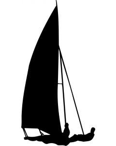 Sejlsport 2, konturskåret, vr nr 315 fra