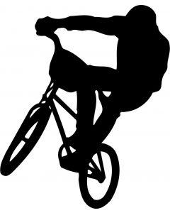 BMX køre