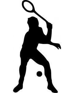Squash spiller, konturskåret, 425 fra