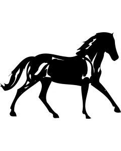 Hest, 10 x 13 cm.