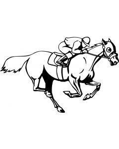 Hest, 8,5 x 13 cm.