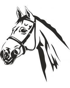 Hest, 10 x 11 cm.