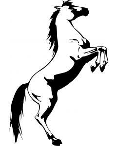 Hest, 9,5 x 13 cm.