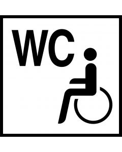 Handicap toiletskilte