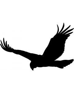 Skræmmefugl str. 13 x 20 cm