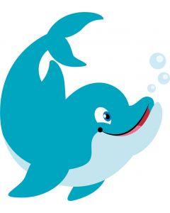 Blå delfin