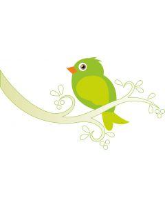 Fugl på kvist