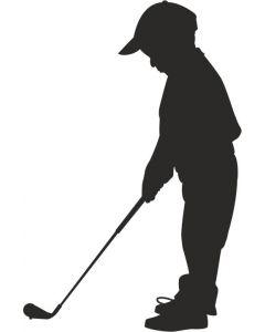 Golfspiller, barn