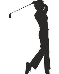 Golfspiller kvinde