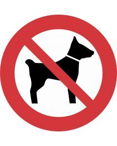 """Forbudsskilt """" Hunde forbudt"""""""