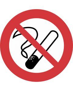 """Forbudsskilt """" Rygning forbudt """""""