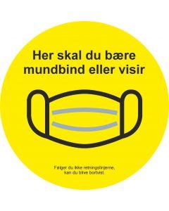 Mundbind stickers