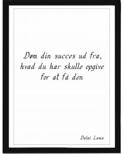 Døm din succes
