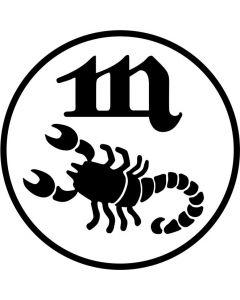 "Stjernetegn ""Skorpionen""  24. oktober - 22. november"
