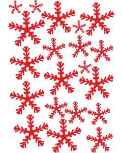 Snefnug, A4 ark
