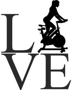 """Love"" Spinning dame"