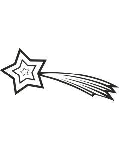 Stjerneskud 1, konturskåret, 4507 fra