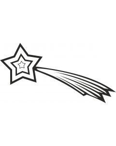 Stjerneskud 3, konturskåret, 4511 fra