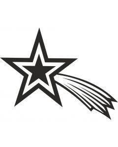 Stjerneskud 4, konturskåret, 4509 fra