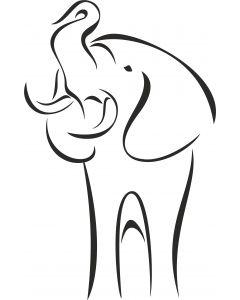 Elefant 1, vr nr 3809 Fra.