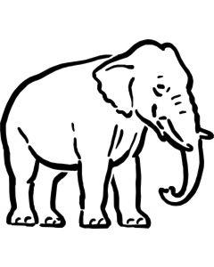 Elefant 2, vr nr 3810 fra