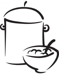 Suppegryde, vr nr 3814 fra