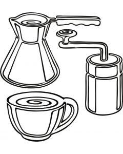 Kaffebrygning, vr nr 3818 fra