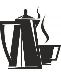 Kaffekande med kop, vr nr 3817 fra