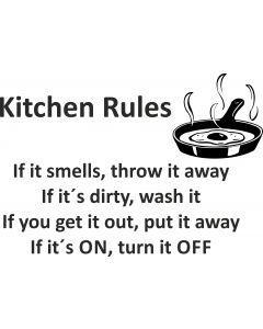 Kitchen Rules,vr nr 3842 Fra..