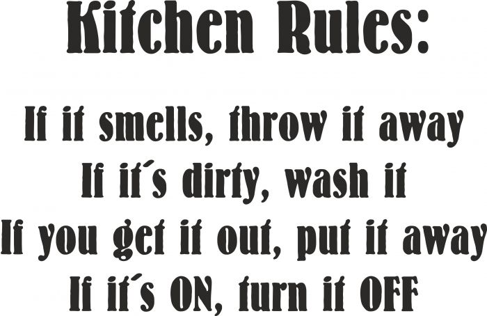 Kitchen Rules vr nr 3853, fra: